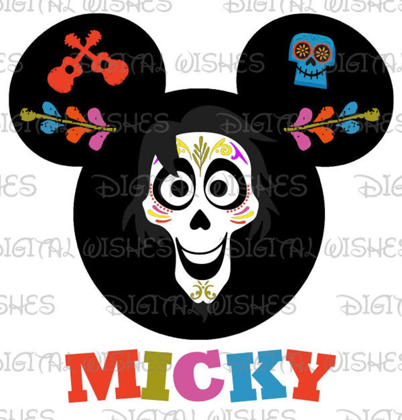 f2b5fd312 Coco Papa Hector Day of the Dead Mickey Mouse head ears