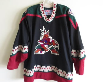 ec1c1e6c0 Vintage 90 s Phoenix Coyotes hockey jersey sweater by CCM
