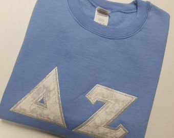Sorority letter shirts | Etsy