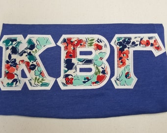 picture relating to Printable Greek Letter Stencils for Shirts known as Greek letter blouse Etsy