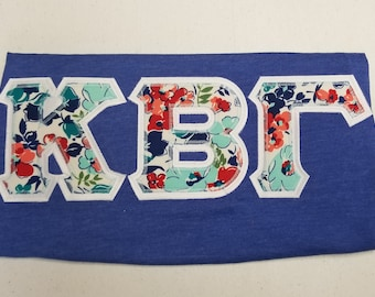 graphic regarding Printable Greek Letter Stencils for Shirts identified as Greek letter blouse Etsy