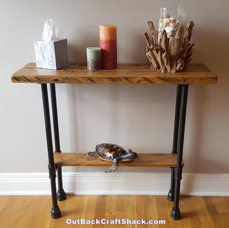 dba854a07247 Rustic Entryway Table Entryway Furniture Industrial Decor