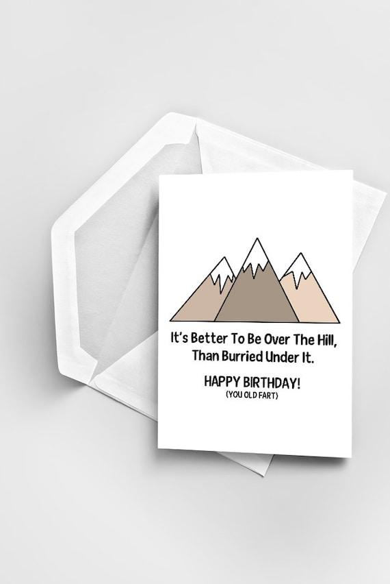 Funny Birthday Card Joke Greeting