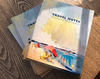 Travel Notes- The Paintings of Henry Isaacs, Book by Daniel Kany 60 pages, lavishly illustrated and signed by Henry Isaacs