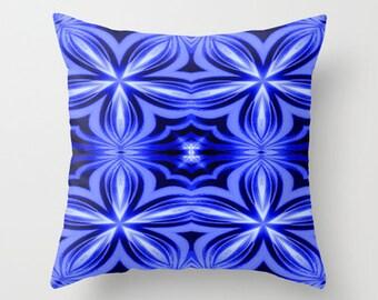 Pillow Cover, Throw Pillow,Blue Pillow,Dorm Decor,Living Room Decor,Bedroom Decor,Office Decor,Patio Decor,Kids Room Decor