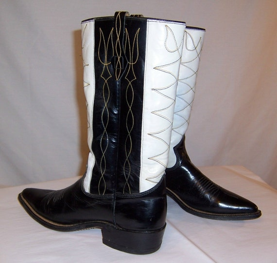 Men's 1940's Johnnie Walker-Black and White Cowbo… - image 3
