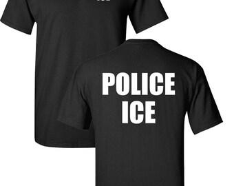 POLICE ICE U.S. Immigration and Customs Enforcement Men s Tee Shirt 1627 dcf04ffaa911