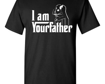 I Am Your Father Darth Vader Star Wars Men's Tee Shirt 1259