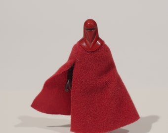 1983 Star Wars Kenner Imperial Guard action figure! Return of the Jedi Loose Toy Fabric Cloth Red
