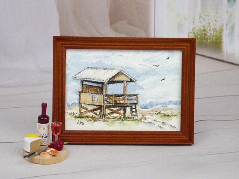 Seascape  Miniature Dollhouse Doll House Picture