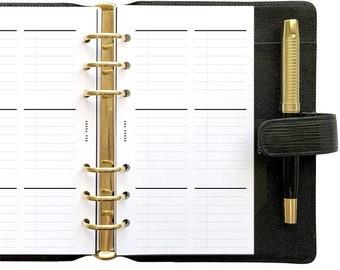 PR 6 Block, Printable Planner Inserts [PDF File] v2022