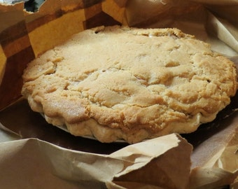 Brown Bag Apple Pie Recipe- (The One with the Sugar Cookie Style Top Crust - circa 1934)  PDF