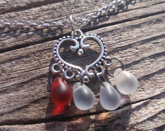 Heart Container - Heart Container Necklace - Legend of Zelda - Legend of Zelda Necklace - Zelda Necklace - Heart Necklace