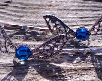 Navi Fairy hair pins, Legend of Zelda hair pins, Legend of Zelda Fairy, Zelda hair pins, Fairy hair pins, Navi