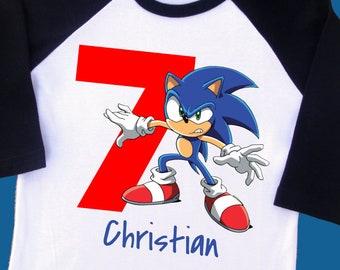 Sonic The Hedgehog Shirt Etsy