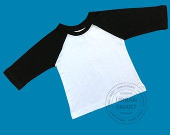 de3060736 Infant baseball Shirt. Boy and Girl T shirt. 100% Soft Premium Cotton. 3/4  Sleeve Raglan.