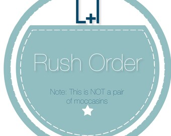 Rush Order for Jesa (2 day shipping)