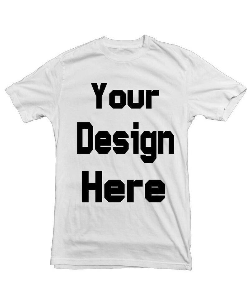 ba287c51 Custom Shirt Printing FULL COLOR Logo design photo design   Etsy