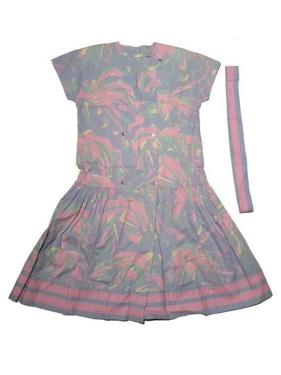 Marimekko late 80s vintage dress