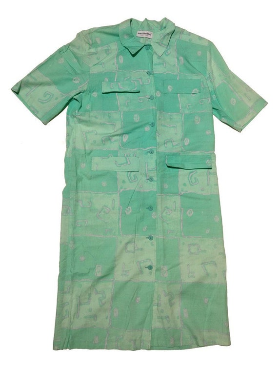 Marimekko dress late 1980s vintage