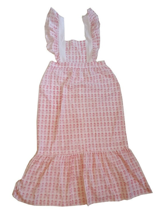 Tailormade Marimekko apron dress late 70s / early