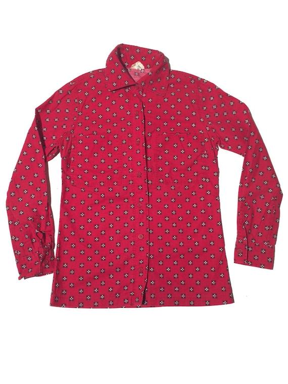 Marimekko late 1970s cotton shirtdress - image 1
