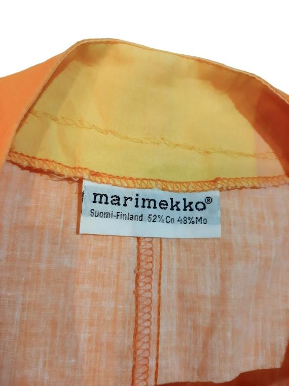 Marimekko original late 80s pantdress - image 3