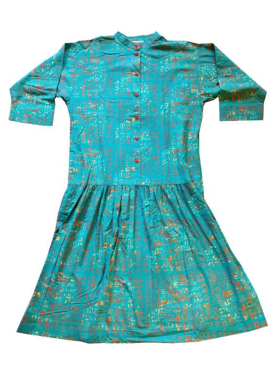 Marimekko original 80s dress