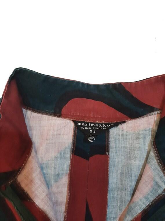 Marimekko original late 60s dress - image 3
