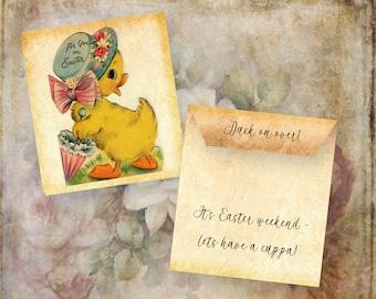 3 Easter T-Bag Envelopes