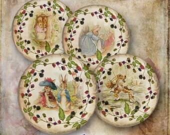 15 Beatrix Potter Bramble Circles