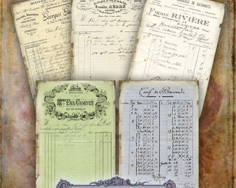Vintage Ephemera Tags