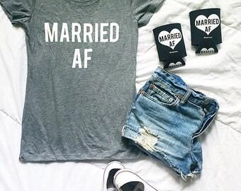 MARRIED AF tshirt - On Sale