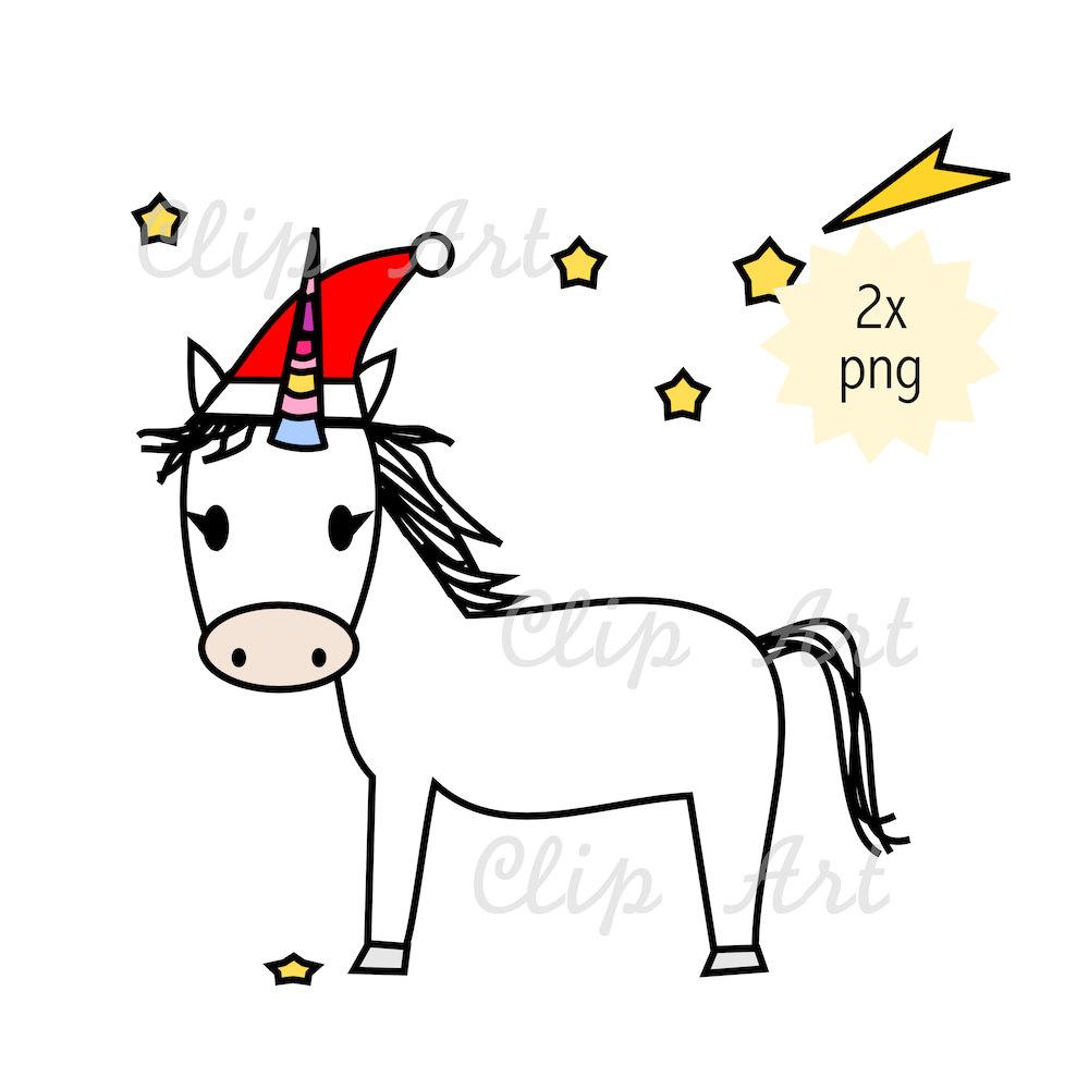 zoom - Christmas Unicorn