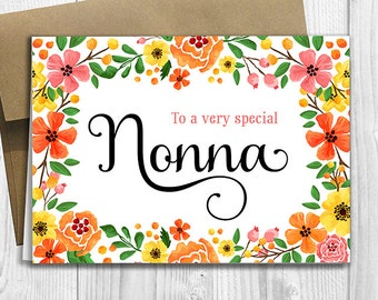 To A Very Special Nonna
