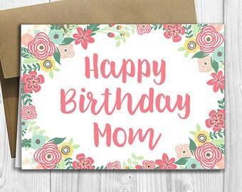Greeting Card Mom
