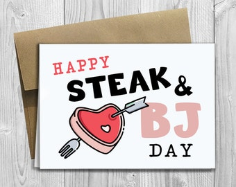 When is steak and blowjob day