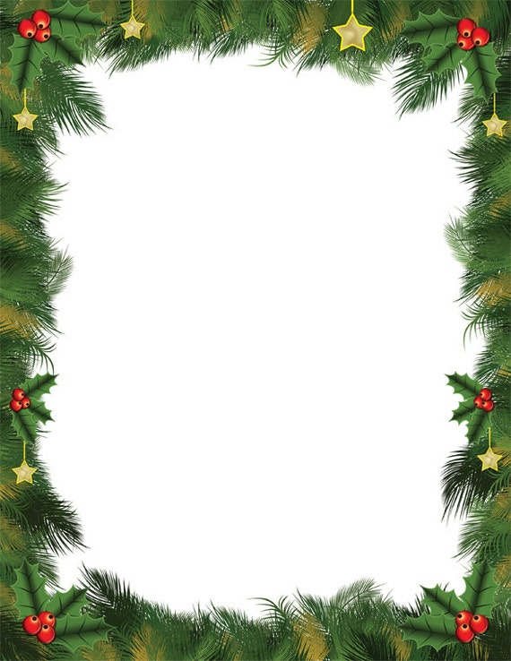 Christmas Theme Flyer Template, Background in Microsoft ... |Christams Theme Word Templates