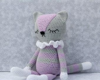 handmade  nordic style kitty ( ready to ship)