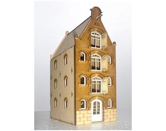 Dutch canal house kit 1:48 Brouwersgracht