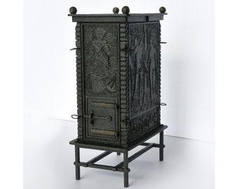 17th century Renaissance Heater dollhouse miniature kit 1:12