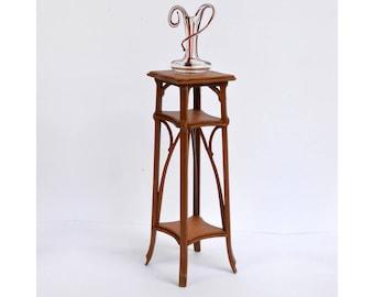 Art Nouveau Plant Stand kit 1:12 dollhouse miniature