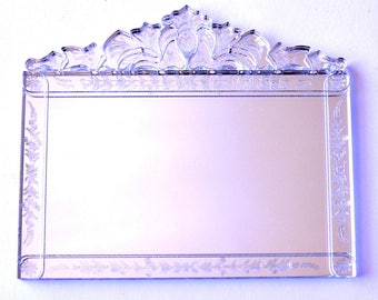 Venetian Mirror dollshouse miniature 1:12
