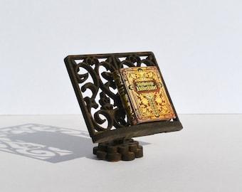 Victorian Bookstand dollshouse miniature kit 1:12