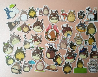 NEW!!TOTORO Flake Stickers Pack
