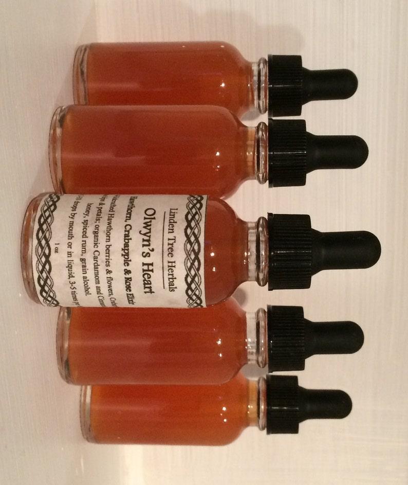 Olwyn's Heart // Hawthorn Crabapple and Rose Elixir image 0