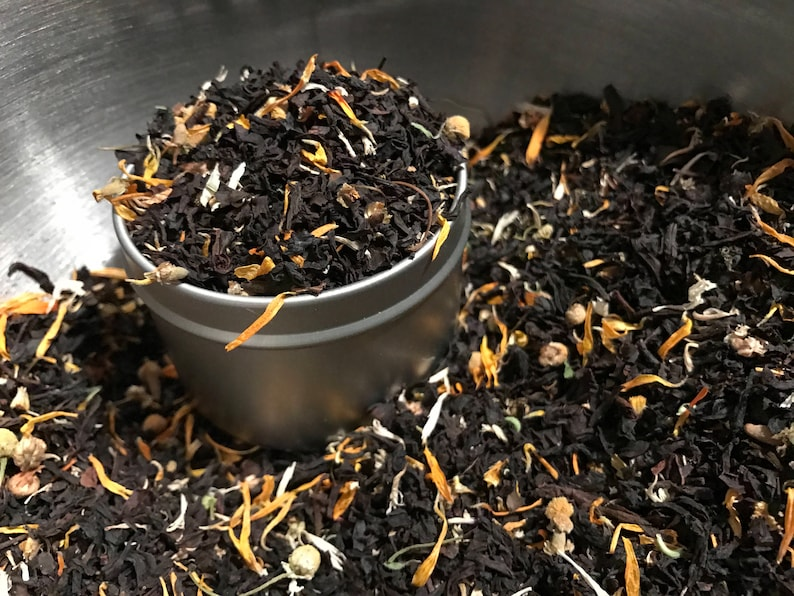Sunshine & Cream Black Tea Blend // Organic Hand-blended image 0