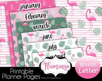 2022 Month Calendar Planner Printable   Fits Big Happy Planner Franklin Agenda52 a4 Van der Spek Filofax Letter   Fully dated 2021 and 2022