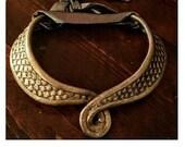 Daenerys Targaryen or Missandei inspired dragon scale collar and belt for dress, plastic 3D print, dragon scale necklace, cosplay necklace