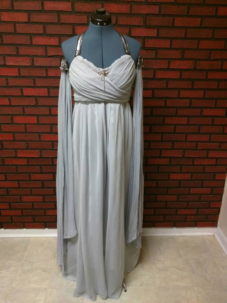 Daenerys wedding dress full costume, GOT cosplay, Daenerys Targaryen Halloween costume, Khaleesi